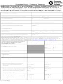 Domicile Affidavit - Residency Statement