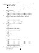 Form St-1 - Application Form For Registration Under Section 69 Of The Finance Act, 1994