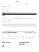 Form 2a (format Of Police Complaint)