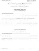 Tax Disclosure Report Preferred Provider Companies - The Commonwealth Of Massachusetts