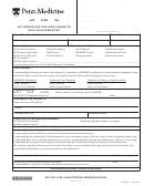 Medical Release Form Penn Medicine