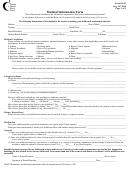 Medical Information For Excursions - Tdsb School Websites
