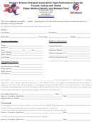 Weva Hp Medical Release Form - Western Empire Volleyball