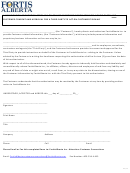 Authorization Form To Release Customer Information To A Third Party
