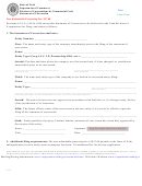 Statement Of Conversion Form - State Of Utah Department Of Commerce - 2014