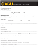 Vcu I-20/ds-2019 Request Form