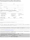 Documentation Of Disability Form - Student Affairs