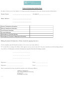Contact Information Update Form - Middlesex Management