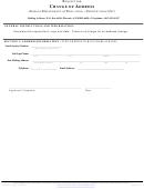 Change Of Address Arizona Department Of Education