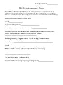 Sec Reimbursement Form