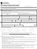 Form Mv-37 - Application For Enrollment Or Change In Electronic Lien And Title System