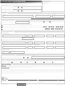 Colorado Voter Registration Form