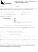 Request Duplicate Tax Form