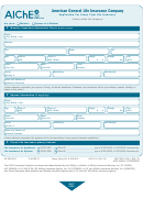 American General Life Insurance Company Application Form For Group Term Life Insurance