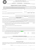 Eligible Student Transfer Certificate