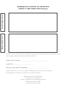Green Card Form - Md Program