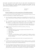Affidavit Pursuant To F.s.s.