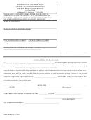 Affidavit Of Heir-at-law