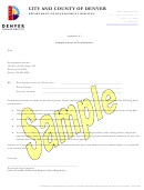 Sample Letter Of Certification Template