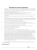 Data Recovery Service Agreement - Uci Computers