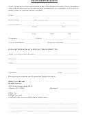 Transcript Request Form - Capital Region Boces
