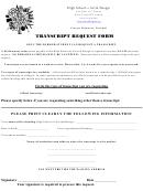 Transcript Request Form - High School Of Art And Design