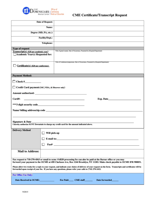 Top 26 Nyu Transcript Request Form Templates free to download in ...