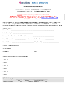 Transcript Request Form Montefiore Health System