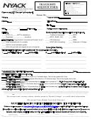 Transcript Request Form Nyack College