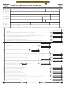 Form 541 - California Fiduciary Income Tax Return - 2014