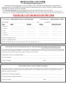 Medication Log Form