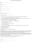 Source On High Floatation Release Form