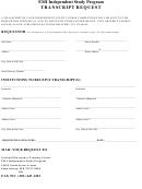 Emi Transcript Request Form
