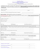 Cashiers Office Business Expense Reimbursement Form