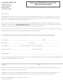 Short Term Disability Consent Form - Concord Ob Gyn