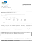 Request For Duplicate W2 Form - Miami Dade County