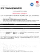 Music Conservatory Application
