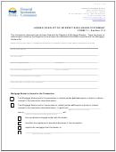 Lender Conflict Of Interest Disclosure Statement
