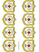 Emergency Medical Technician Badge Templates