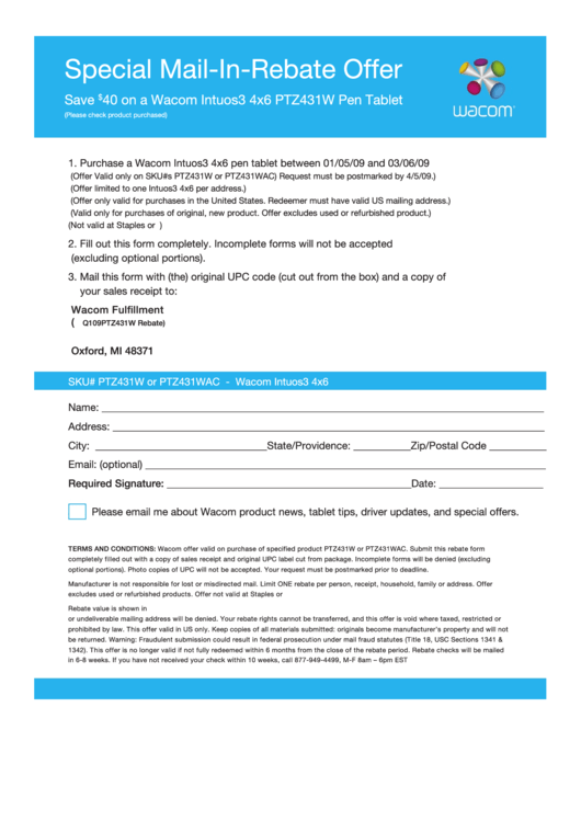 top staples rebate form templates free to download in pdf