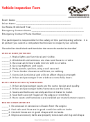 Vehicle Inspection Form - Trackmasters