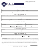 Enrollment Form Colonial Transfer Corporation
