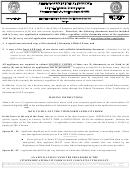 Citizenship Affidavit Form