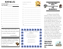Rising 2nd And 3rd Grade Summer Reading Log Template