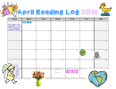 April Reading Log 2016