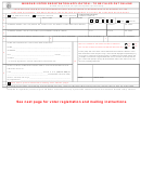Missouri Voter Registration Application - St Louis County
