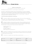 Child Care Assistance Form