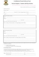 Confidential Parent Referral Form
