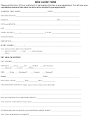 New Client Form Harris Pet Hospital