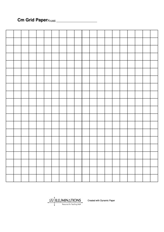 Cm Grid Paper